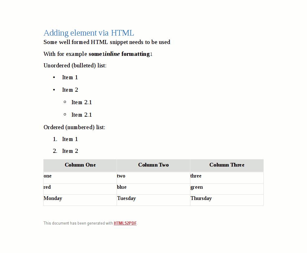 Php Generate Pdf File